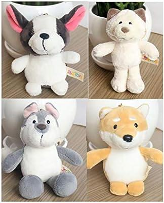 Peluches 7 Pack de animales de peluche, juguetes de peluche ...
