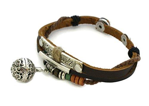 Diffuser Terra Cotta Stone - Destination Oils Treasure Essential Oil Diffuser Bracelet- Snap Closure