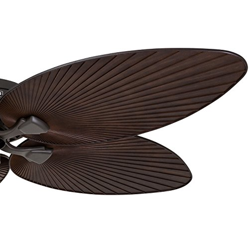 Palm Coast Harbour Island 52 In Tropical Bronze Indoor: Honeywell Palm Island 52-Inch Tropical Ceiling Fan