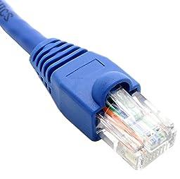 RiteAV - Cat5e Network Ethernet Cable - Blue - 300 ft
