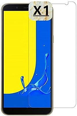 Haikingmoon Cristal Templado Samsung J6,Fácil de Instalar Libre de ...