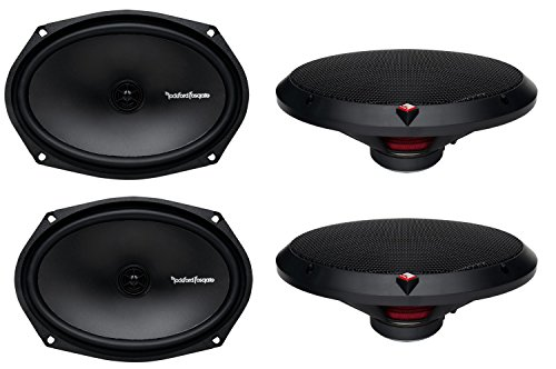 4) New Rockford Fosgate R169X2 6x9