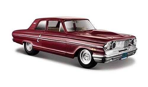 Maisto Ford Fairlane Thunderbolt 1/24 Scale Diecast Model Replica Car Maroon (Collector Scale Diecast)