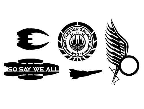 So Say We All (Battlestar Galatica Inspired) Decal for sale  Delivered anywhere in USA