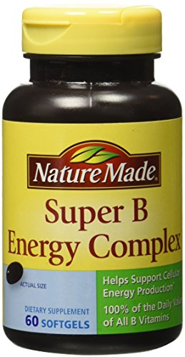 New Nature Made Full Strength Minis Super B Energy Complex