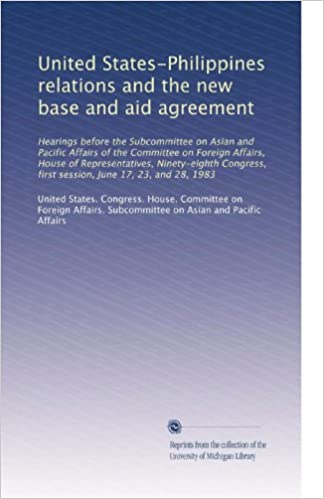 United States Philippines Relations And The New Base And Aid