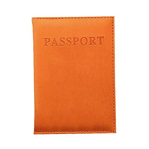 Orange Porte OHQ Orange DéDié Violet Voyage Organisateur Passeport D'Identité Vert Foncé Noir Marron Passeport Porte Carte Protecteur Nice Rose Chaud Carte Clair Bleu Titulaire E14n1w8grx
