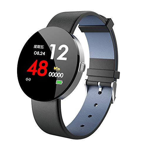 LEERYAAY Y11 Smart 1.3 Inch IPS Colour Display Heart Rate Monitor Fitness Tracker Watch Silver