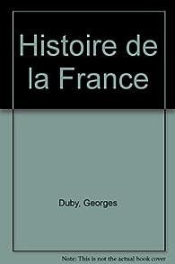 Hist.de France t.2 références par Georges Duby