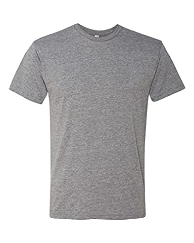 Next Level 6010 Men's Tri-Blend Crew Tee - Large - Premium Heather - Apparel