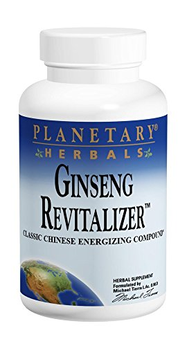 Planetary Herbals Ginseng Revitalizer, 964 mg, Tablets, 180 Tablets