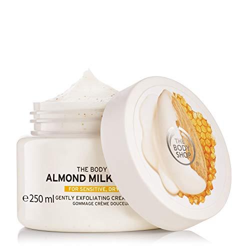 The Body Shop Almond Milk & Honey Body Scrub Exfoliator – 250ml