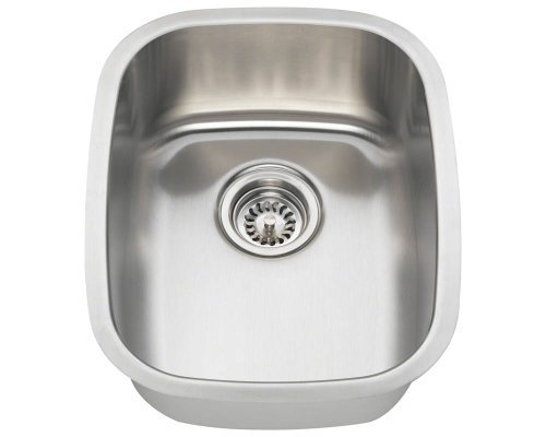 Polaris Sinks P5181-16 Stainless Steel Bar Sink by Polaris Sinks by Polaris Sinks