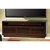 BellO WMFC602 63 TV Stand for TVs up to 70, Chocolate
