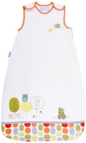Gro grobag oficial Saco de dormir Woodland Tale 2,5 Tog, de 0 a 6 meses, color blanco: Amazon.es: Bebé
