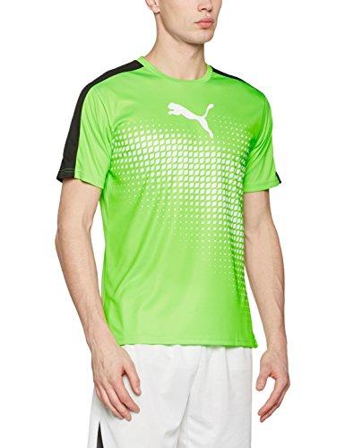 Evotrg nero Uomo Maglietta It Verde Puma Geco bianco Tee Graphic SRwF8cUq