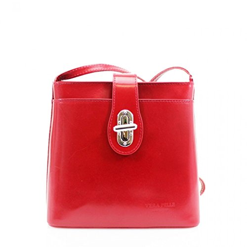 lock 011 LEATHER BODY BAGS ITALY SHOULDER SMALL GENUINE RED CROSS LeahWard Twist gwP8Ew