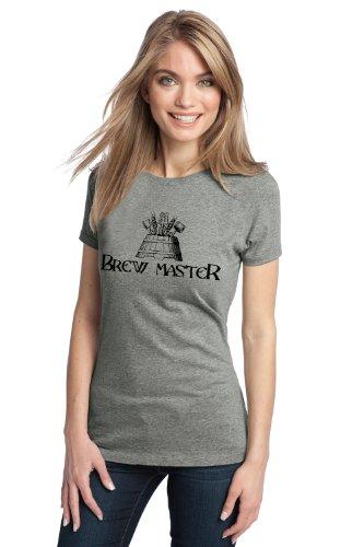 BREW MASTER Ladies' T-shirt / Craft Brew, Home Brewer Beer Lover Tee