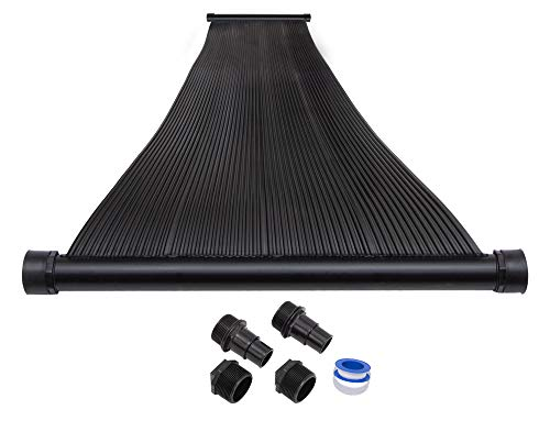 Swimming Pool Solar Heating Panels - SunQuest 1-2'X12' Solar Swimming Pool Heater - Max-Flow