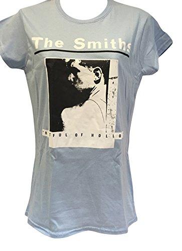 f1fe0c3c Blue Bagal Ladies The Smiths 'Hatful of Hollow' T Shirt: Amazon.co.uk:  Clothing