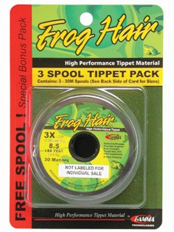 - Frog Hair 7x Tippet Spool