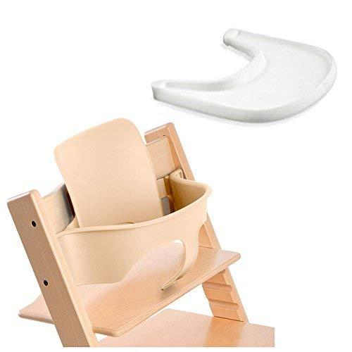 - Stokke Tripp Trapp Baby Set - Natural & Tray - White