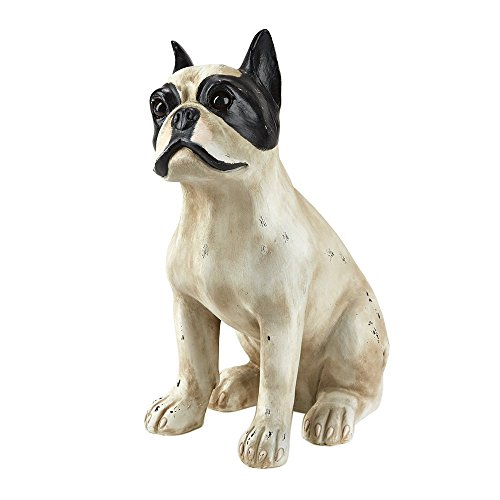 Two's Company French Bulldog Statue