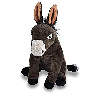 "Wild Republic Mule Plush, Stuffed Animal, Plush Toy, Gifts for Kids, Cuddlekins 12"": Toys & Games"