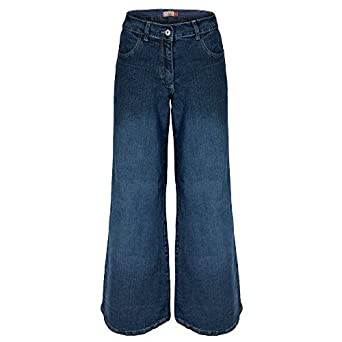 8f1e4ea1433 Clove Hippie Bell Bottom Flare Dark Blue Denim Jeans Plus Size 14 16 18 20  22