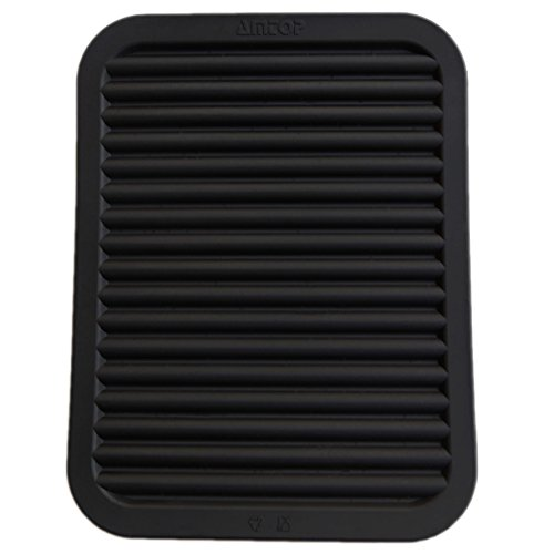 "9"" x 12"" Silicone Pot Holder, Trivet Mat, Baking Gadget Kitchen Table Mat - Waterproof, Heat Insulation, Non-Slip,Trivet, Tableware Pad Coasters - Black"