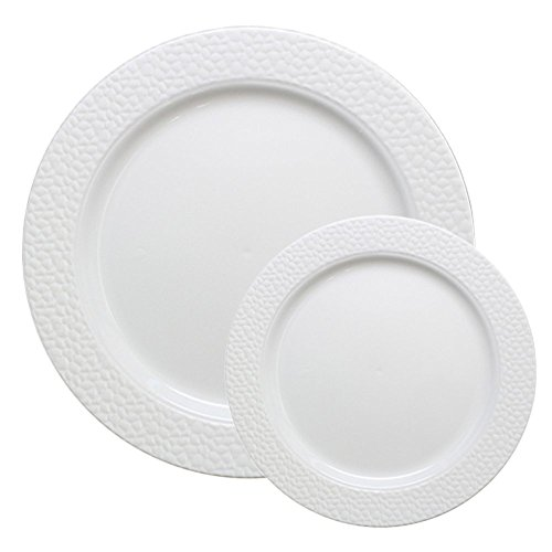 Table To Go 'I Can't Believe Its Plastic' - Heavy Plastic Dinner Plates