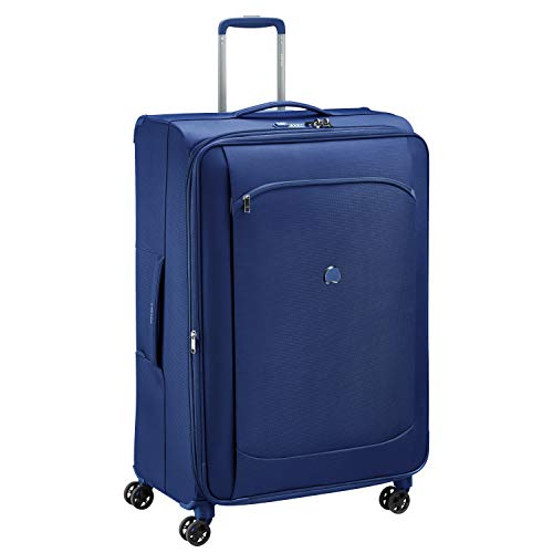 (Delsey Paris Suitcase, blue)