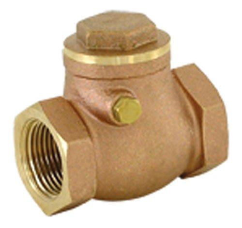 - EZ-FLO 20425LF swing check valve brass, 1
