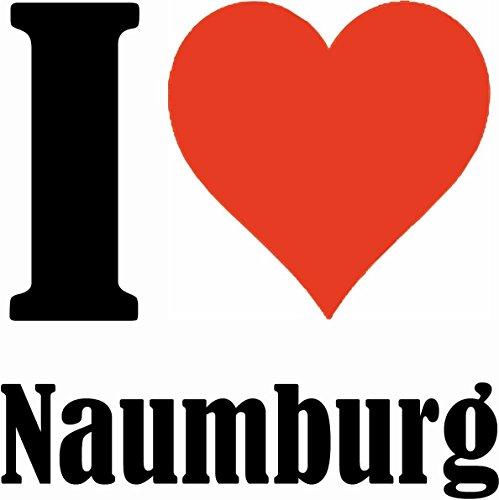 """Handyhülle iPhone 4 / 4S """"I Love Naumburg"""" Hardcase Schutzhülle Handycover Smart Cover für Apple iPhone … in Weiß … Schlank und schön, das ist unser HardCase. Das Case wird mit einem Klick auf deinem"""