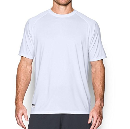 Under Armour Tactical T-Shirt loose HeatGear Tech Tee Blanco/Blanco
