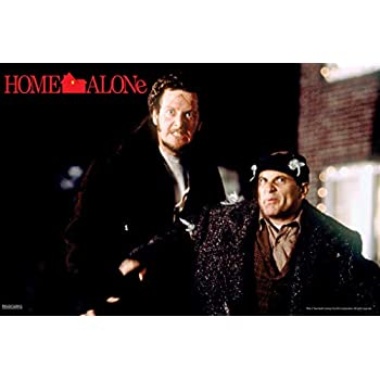 Pyramid America Home Alone Harry and Marv Faces Funny Christmas Movie Kevin McAllister Wet Bandits Holiday Film Cool Wall Decor Art Print Poster 12x18