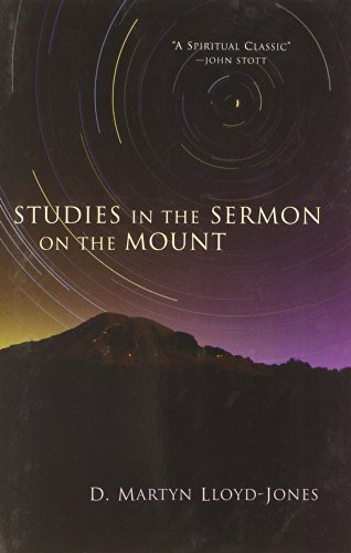 Studies in the Sermon on the Mount