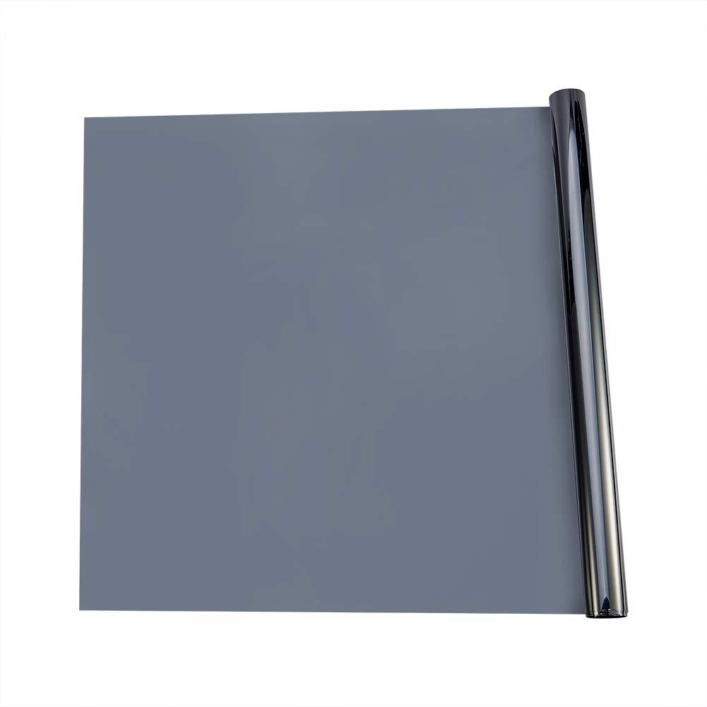 ATMOMO 16/% VLT Dark Grey Car Window Solar Protection Film Sun Blocking UV Protection Window Tint Roll 0.5Mx3M