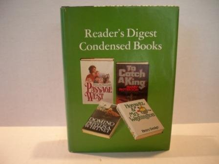 Reader Digest Condensed Books Volume 1 1980