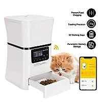 Deals on HomeRunPet Automatic Pet Feeders Smart Food Dispenser