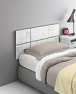 Cabezal o cabecero para cama individual de 90 o 105 de - Cabeceros cama 105 ...