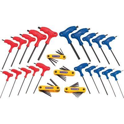 Grip-On Tools Hex Keys - 24-Pc. Set, Model# 92160 (Hex Total Keys)