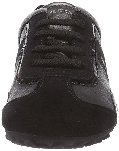 Para Zapatillas Negro black C9999 D Geox Mujer B Snake qIWBwcTH