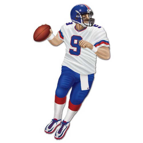 Beistle 54177 Jointed Quarterback, 5-Feet 9-Inch -