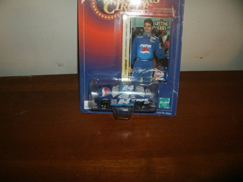 National Series Race (1999 Jeff Gordon #24 Pepsi (Raced in 5 Busch Series Races) 1/64 Scale Winners Circle Lifetime Series Edition #2 of 8 With Gordon Photo Insert)