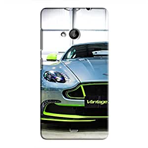 Cover It Up - AM Vantage GT8 Green Lumia 535 Hard Case