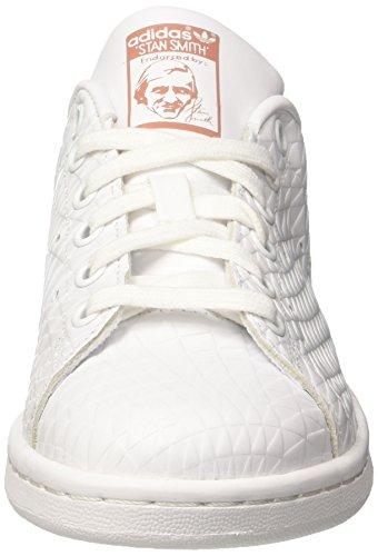 Footwear Adidas Smith Pink Blanco para de W Stan Zapatillas Footwear Deporte Mujer Raw White White rF6rZAH