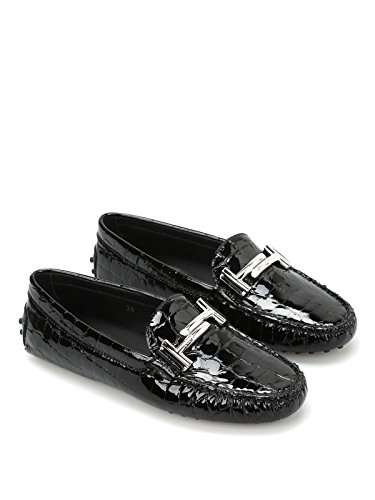 Gommini Nero Patent Donna Double Leather Tod's T Ep0BqBx