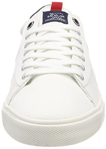 Basses Sneakers Homme White Blanc 13600 Oliver s qt4nWE0t