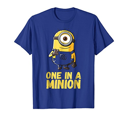 Despicable Me Minions One In A Minion Graphic T-Shirt -